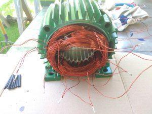 سیم بندی الکتروموتور