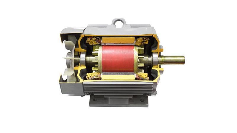 آشنایی با اجزاء الکتروموتور