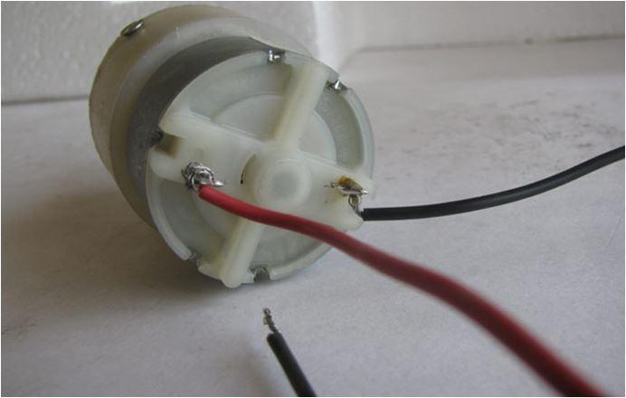 نحوه عملکرد موتور گیربکس DC به صورت تصویری